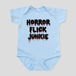 Horror Flick Junkie Baby Light Bodysuit