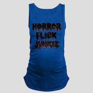 Horror Flick Junkie Maternity Tank Top