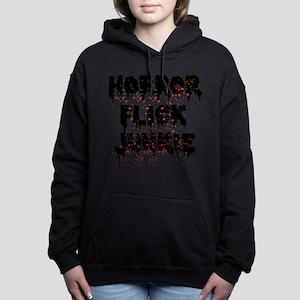 Horror Flick Junkie Women's Hooded Sweatshirt