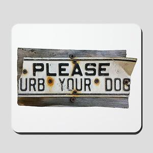 Please `urb Mousepad