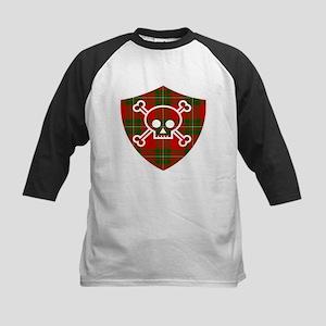 Mac Gregor Tartan Skull And Bones Shield Baseball