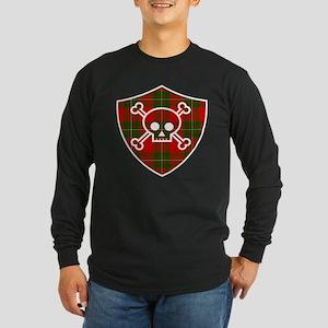 Mac Gregor Tartan Skull And Bones Shield Long Slee