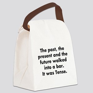 The past, the present and the fut Canvas Lunch Bag