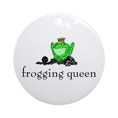 Yarn - Frogging Queen Ornament (Round)