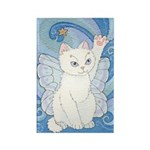 Star Cat Fairy Rectangle Magnet