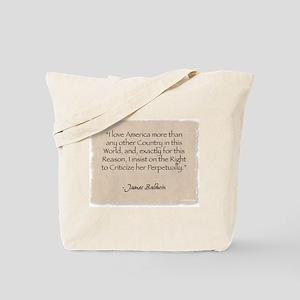 Tote Bag: I love America