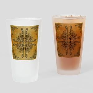 AMBER Drinking Glass