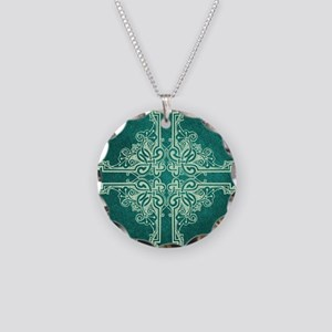SPRUCE Necklace Circle Charm