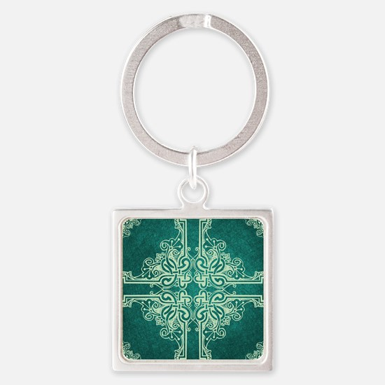SPRUCE Square Keychain