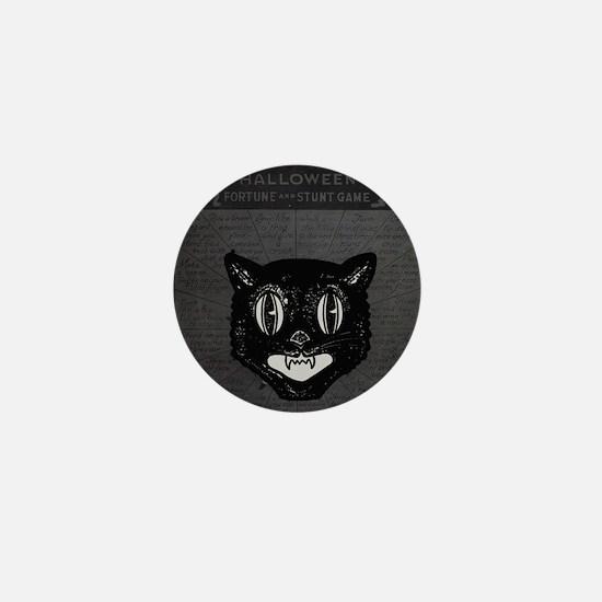 Halloween Kitty Collage Mini Button