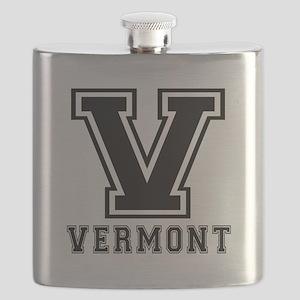 Vermont State Designs Flask