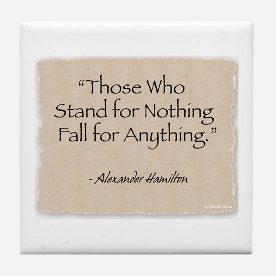 Tile Coaster: Fall for Anything