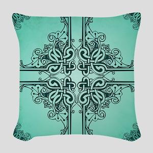 SEAFOAM Woven Throw Pillow