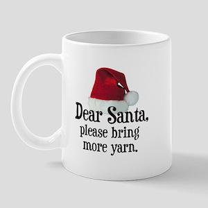 Santa Bring More Yarn Mug