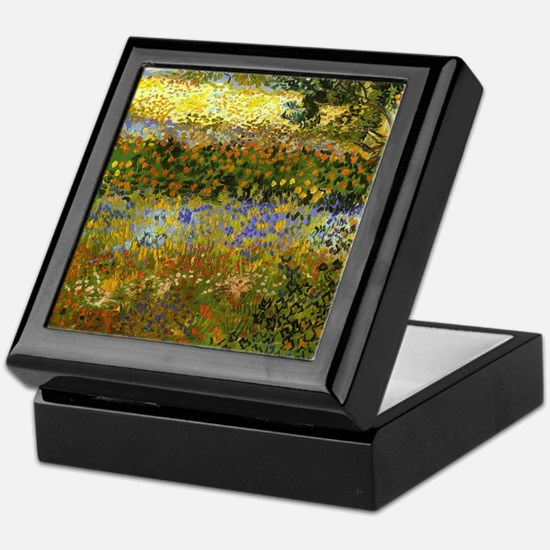 Van Gogh: Flowering Garden Keepsake Box
