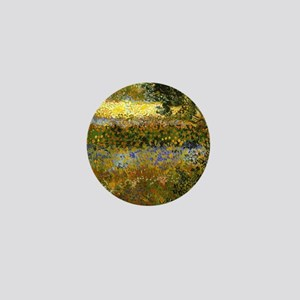 Van Gogh: Flowering Garden Mini Button
