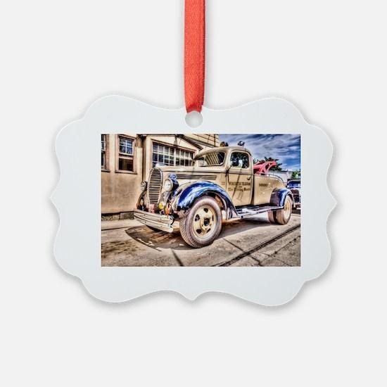 Tow Truck Ornament
