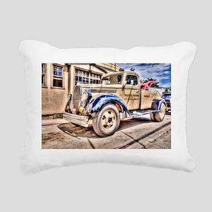 Tow Truck Rectangular Canvas Pillow