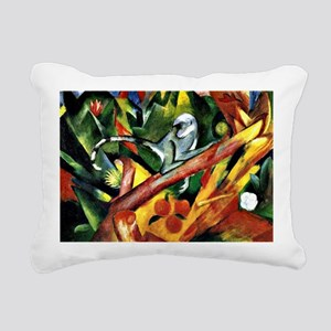 Franz Marc: The Monkey Rectangular Canvas Pillow