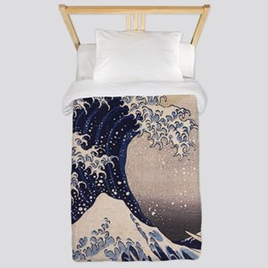 The Great Wave by Hokusai Twin Duvet