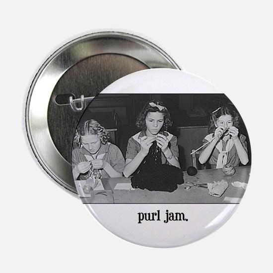 Knitting - Purl Jam Button