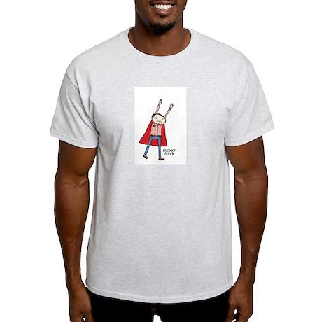 Super Dork Ash Grey T-Shirt