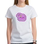 Purple Kissing Bunny Women's T-Shirt