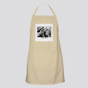 Get Your Knit On BBQ Apron