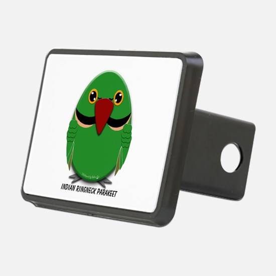 Male Indian Ringneck Parakeet Hitch Cover