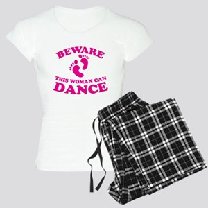 BEWARE this woman can dance pajamas