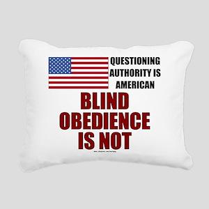Blind Obedience (Progressive) Rectangular Canvas P