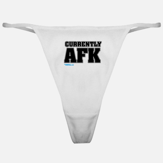 Currently AFK Classic Thong