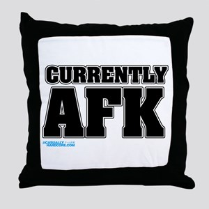 Currently AFK Throw Pillow