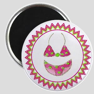 Polka Dot Bikini Zig Zag Magnet