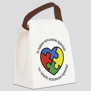 It Takes Someone Special To Teach Canvas Lunch Bag