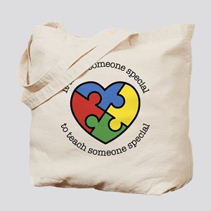 It Takes Someone Special To Teach Someone Tote Bag