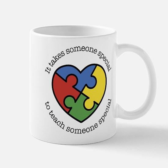 It Takes Someone Special To Teac Mug