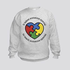 It Takes Someone Special To Teach Kids Sweatshirt