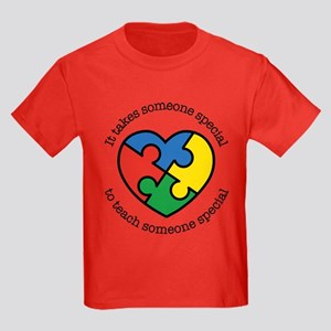 It Takes Someone Special To Teac Kids Dark T-Shirt