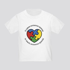 It Takes Someone Special To Teach Toddler T-Shirt