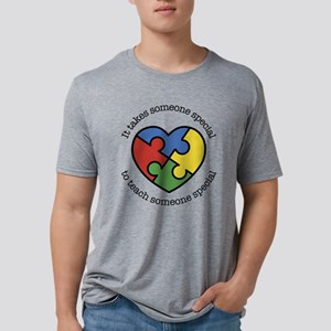 It Takes Someone Special To Mens Tri-blend T-Shirt