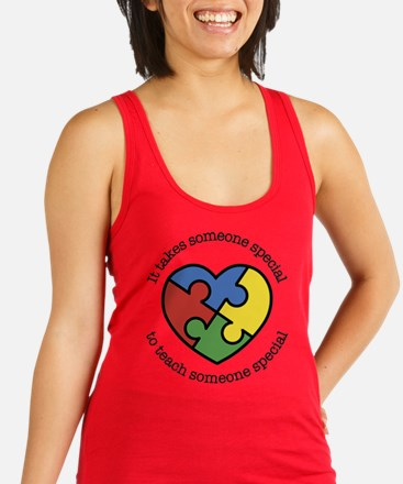 It Takes Someone Special To Tea Racerback Tank Top