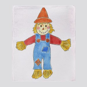 Scarecrow Throw Blanket
