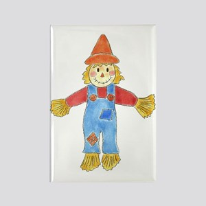 Scarecrow Rectangle Magnet