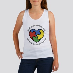 It Takes Someone Special To Teach Women's Tank Top