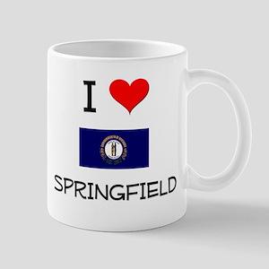 I Love SPRINGFIELD Kentucky Mugs
