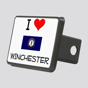 I Love WINCHESTER Kentucky Hitch Cover