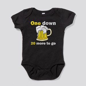 20 More To Go Baby Bodysuit
