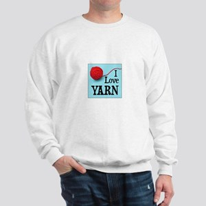 I Love Yarn Sweatshirt