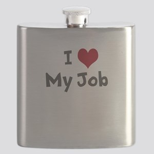 I Heart My Job Flask